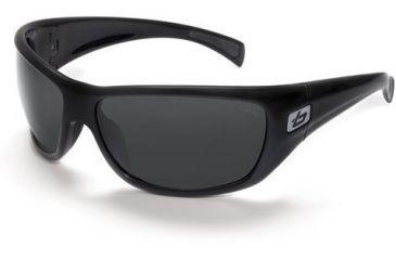 Bolle Cobra Sunglasses 11221, Shiny Black Frame, TNS Polarized Lens