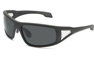 Bolle Diablo Single Vision Sunglasses, Satin Dark Gray Frame 11553