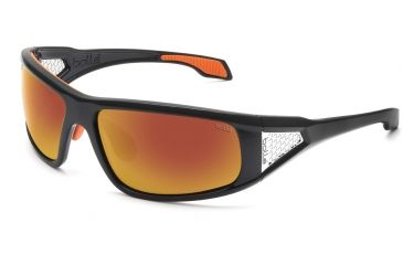 Bolle Diablo Single Vision Sunglasses, Shiny Black Frame 11555