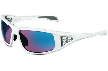 Bolle Diablo Single Vision Sunglasses, Shiny White Frame 11557