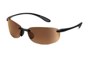 Bolle Sunglasses, Kickback Shiny Black Frame, Photo V3 Golf Lens 11581