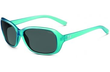 Bolle Sunglasses, Molly Satin Crystal Blue Frame TNS Lens 11514