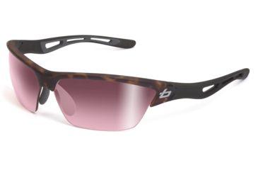 Bolle Sunglasses, Tempest Satin Crystal Tortoise Black Frame Photo Rose Gun Lens 11483