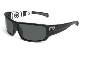 Bolle Tetra Progressive Rx Sunglasses - Shiny Black Circle Frame 11496