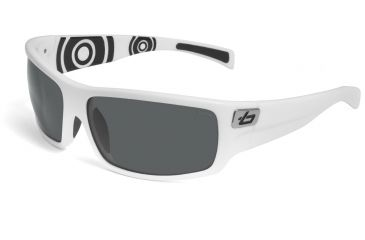 Bolle Tetra Progressive Rx Sunglasses - Shiny White Circle Frame 11497