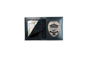 Boston Leather Book Style Badge Case - 100-4128