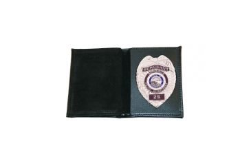 Boston Leather Book Style Wallet With Vertical - 165-S-000