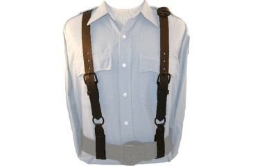 Boston Leather Police Suspenders Clarino - 9180-2