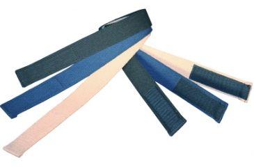 Boston Leather Velcro Tipped Cotton Webbelt, - 6229-30-48