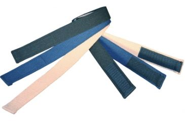 Boston Leather Velcro Tipped Cotton Webbelt, - 6229-30-54