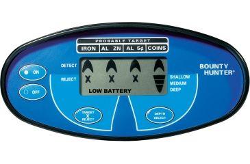 Bounty Hunter Quicksilver Metal Detector Faceplate