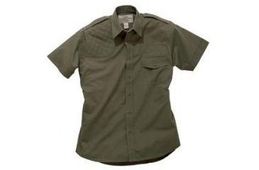 Boyt Harness Short Sleeve Safari Shirt Green Rh Medium 0sa100mrg