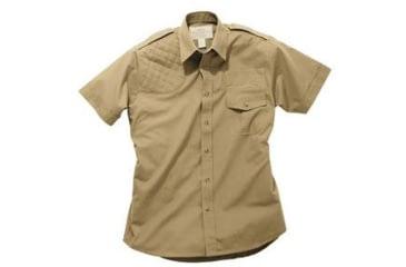Boyt Harness Short Sleeve Safari Shirt Khaki Lh Medium 0sa100mlt