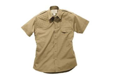 Boyt Harness Short Sleeve Safari Shirt, Khaki LH, Extra Large 0SA100XLT