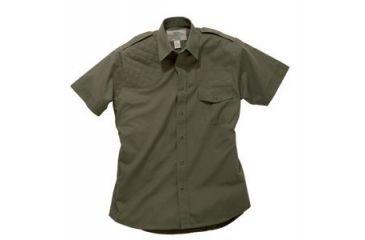 Boyt Harness Short Sleeve Safari Shirt, Green RH, Large 0SA100LRG