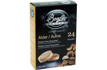 Bradley Smoker Alder Flavor Bisquettes,24pk BTAL24