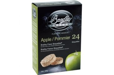 Bradley Smoker Apple Bisquettes,24pk BTAP24