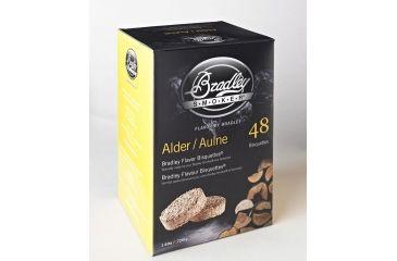 Bradley Smoker Bisquettes, Alder 48Pk BTAL48