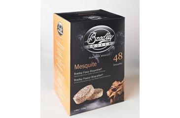 Bradley Smoker Bisquettes, Mesquite 48Pk BTMQ48