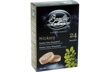 Bradley Smoker Hickory Bisquettes,24pk BTHC24