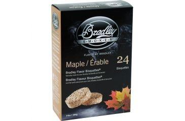 Bradley Smoker Maple Bisquettes,24pk BTMP24