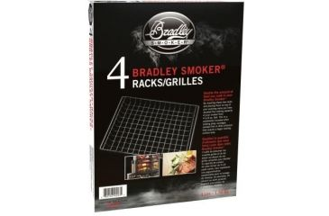Bradley Smoker Set Of 4 Extra Racks BT4XR