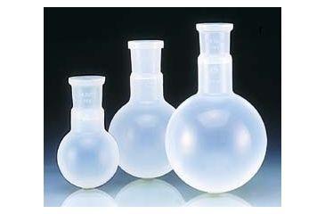 BrandTech Round-Bottom Evaporating Flasks, PFA, BrandTech V107897