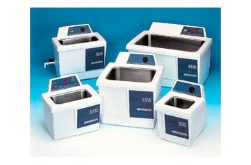 Branson Ultrasonics Bransonic Ultrasonic Cleaners, Branson CPN-952-818 With Digital Timer, Heater, Degas And Temp. Monitor