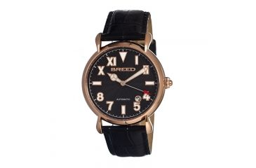 Breed 0201 Fairbanks Mens Watch, Black BRD0201
