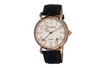 Breed 0202 Fairbanks Mens Watch, White BRD0202