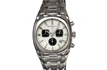Breed 0401 Charles Mens Watch, Silver BRD0401