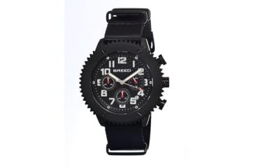 Breed 1501 Decker Mens Watch, Black BRD1501
