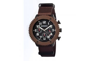 Breed 1503 Decker Mens Watch, Black BRD1503