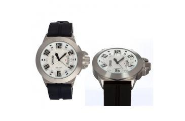 Breed 5001 Alpha Mens Watch, White BRD5001