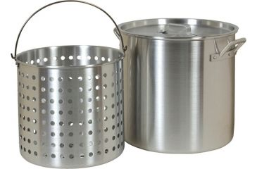 Brinkmann Outdoors 42-Quart Pot w/ Basket 812-9142-S