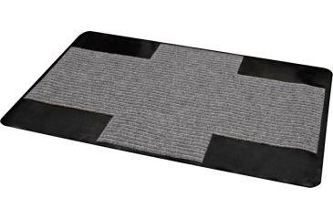 Brinkmann Outdoors Grill Mat, 30x44in, Grey/Black 812-9080-S