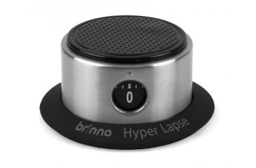 Brinno Pan Lapse Camera Rotator, Silver, Small ART100