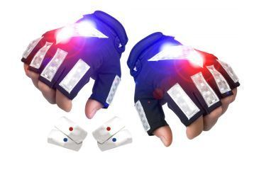 Brite Strike Police Patrol Cycling Gloves PPCG-04