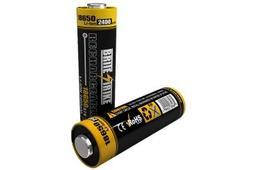 Brite Strike Rechargeable Battery 18650-LIION-2400