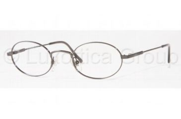 c51b27e18f Brooks Brothers BB191 Progressive Eyeglasses 49 mm Lense Diameter   Dark  Steel Frame