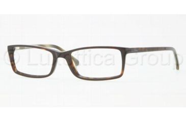 Brooks Brothers BB 2009 BB2009 Progressive Prescription Eyeglasses 6005-5217 - Tortoise / Horn Frame, Demo Lens Lenses