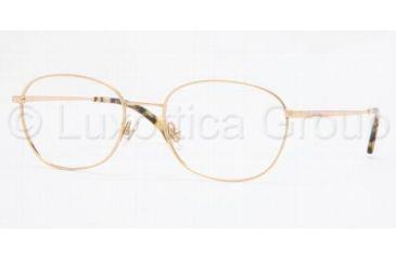 Brooks Brothers BB 3006 Eyeglasses Styles Gold Frame w/Non-Rx 51 mm Diameter Lenses, 1001-5118, Brooks Brothers BB 3006 Eyeglasses Styles Gold Frame w/Non-Rx 51 mm Diameter Lenses