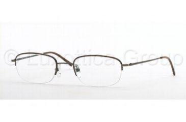 Brooks Brothers BB 403 Eyeglasses Styles Bronze Frame w/Non-Rx 49 mm Diameter Lenses, 1123-4920, Brooks Brothers BB 403 Eyeglasses Styles Bronze Frame w/Non-Rx 49 mm Diameter Lenses