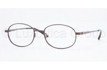 d2d17226d01 Brooks Brothers BB478 SV Prescription Eyeglasses Brown Frame   53 mm  Prescription Lenses