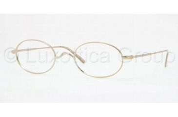 Brooks Brothers BB1001 Bifocal Prescription Eyeglasses 1001-5022 - Gold Frame