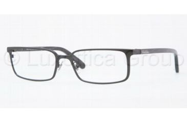 Brooks Brothers BB1003 Single Vision Prescription Eyeglasses 1288-5517 - Matte Black