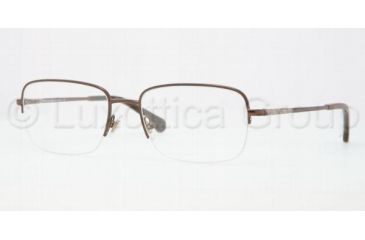 Brooks Brothers BB1004 Eyeglass Frames 1311-5418 - Dark Brown Frame
