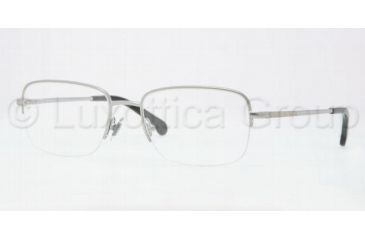 Brooks Brothers BB1004 Eyeglass Frames 1558-5218 - Silver Frame