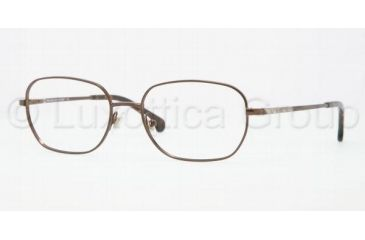 Brooks Brothers BB1005 Bifocal Prescription Eyeglasses 1542-5117 - Dark Brown