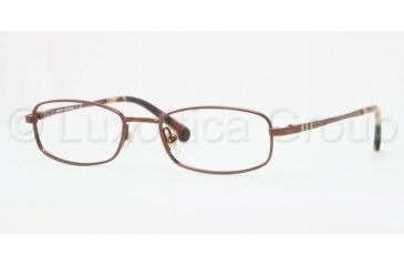 Brooks Brothers BB1009 BB1009 Single Vision Prescription Eyeglasses 1626-4717 - Chocolate Frame, Demo Lens Lenses